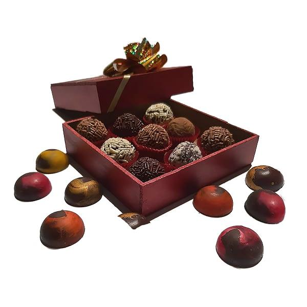 Caja Chocolates y Trufas Artesanales